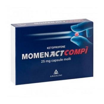 MOMENACTCOMPI 10 CAPSULE 25 MG