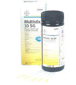 MULTISTIX 10SG 25STRISCE 2292C