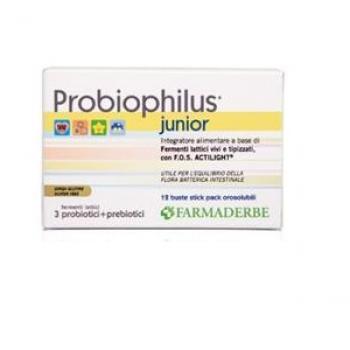 PROBIOPHILUS JUNIOR 12 BUSTE
