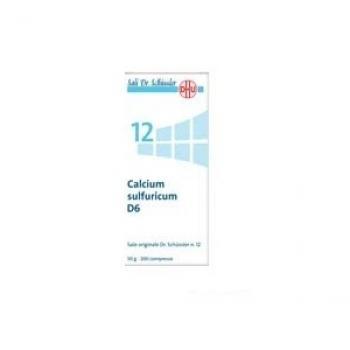 SALE DI SCHUSSLER 12 CALCIUM SULFURICUM 6DH